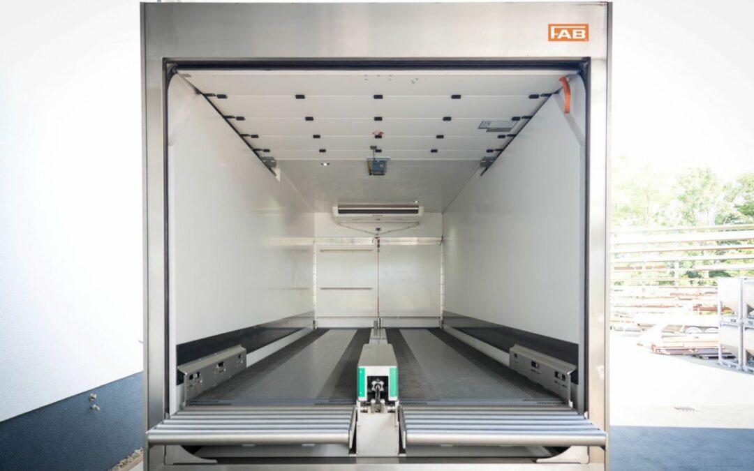 GMP Wechselkoffer für temperaturgeführte Transporte